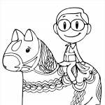 Colouring Book Free Page