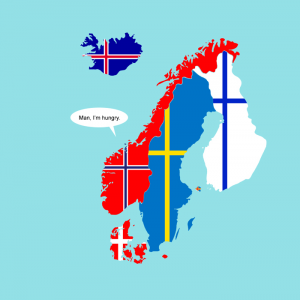 geography joke   scandinavia and the world