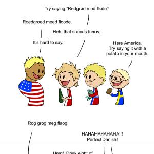 German Russian English Scandinavian 119