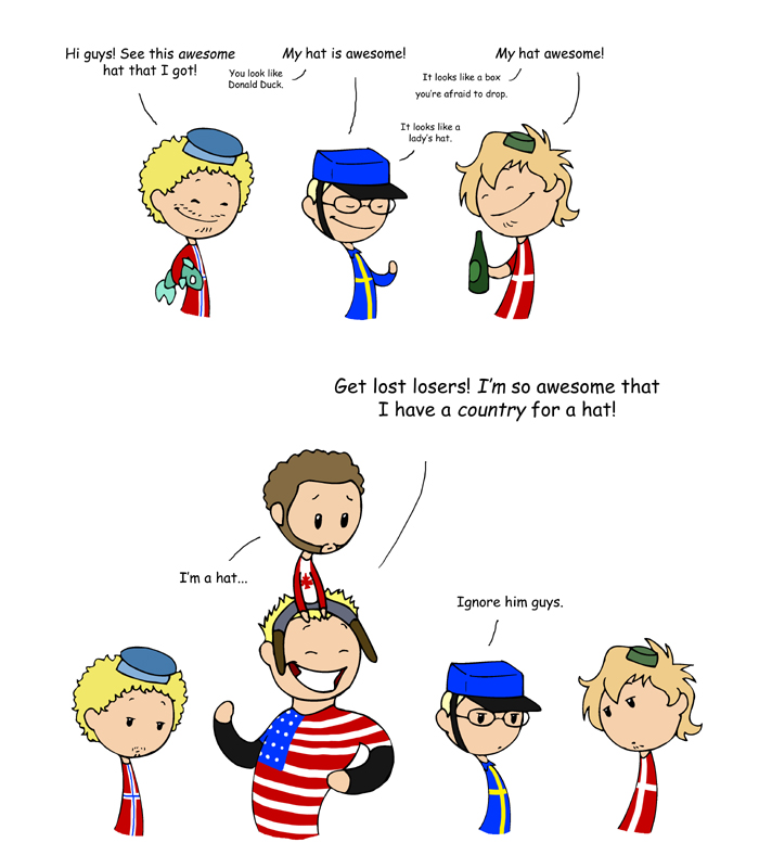 Awesome Hats - Scandinavia and the World