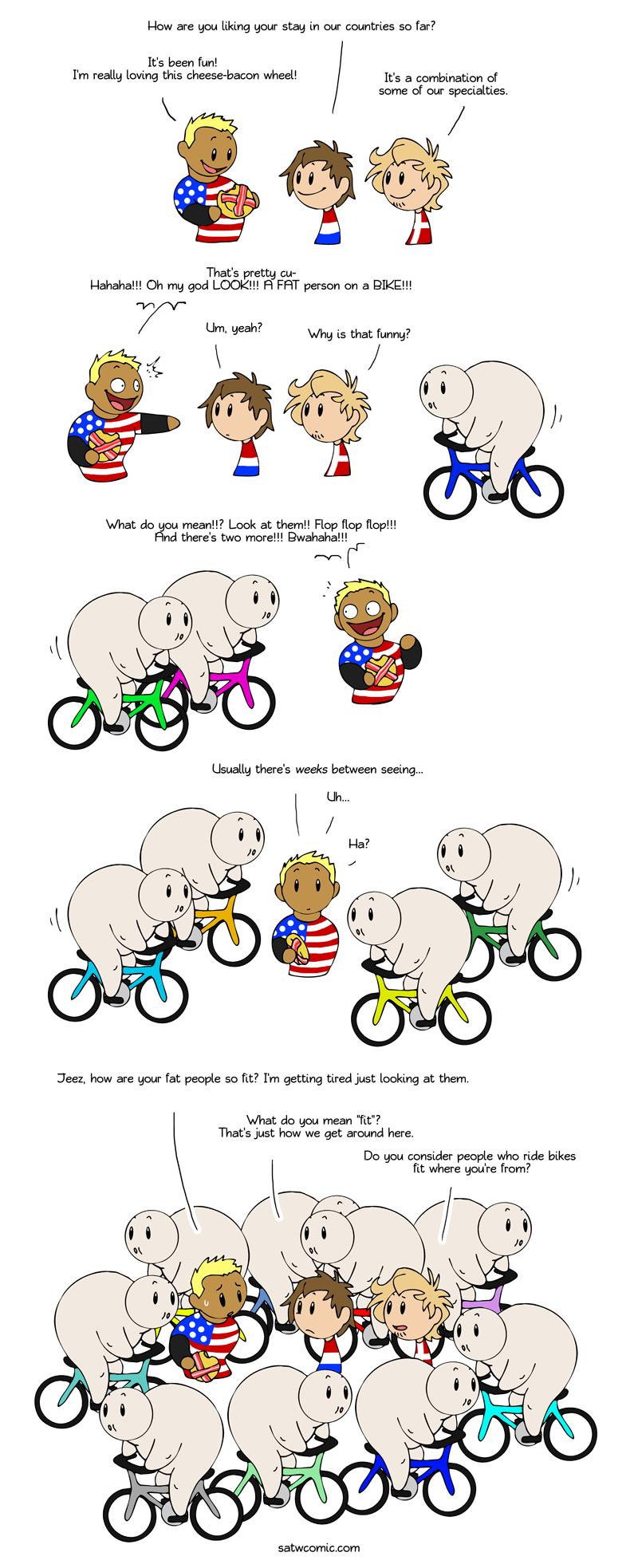 Bike it off satwcomic.com