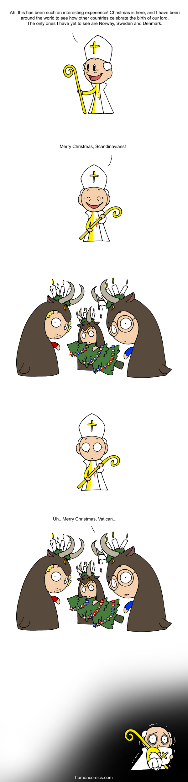 Christmas Traditions satwcomic.com