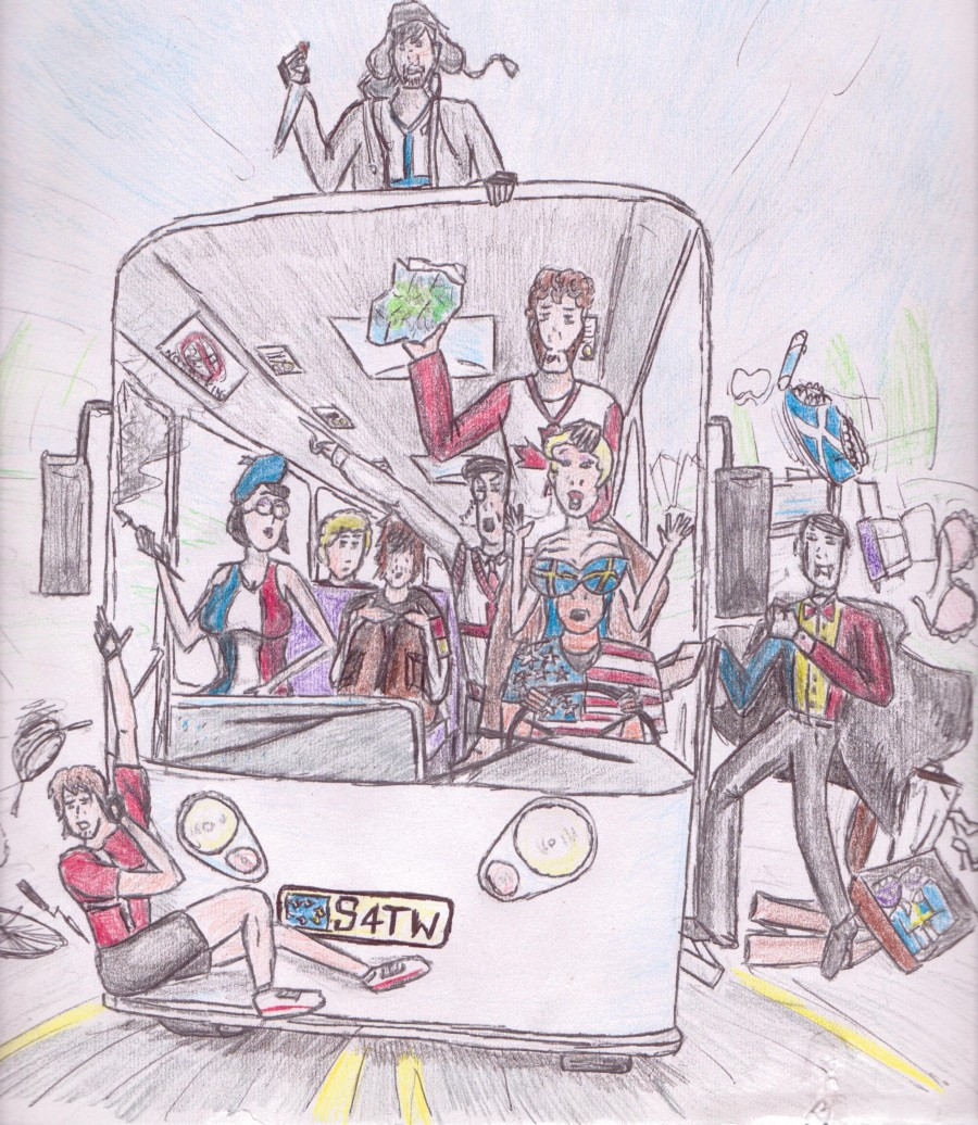 Fan Art: SATW Coach Tour