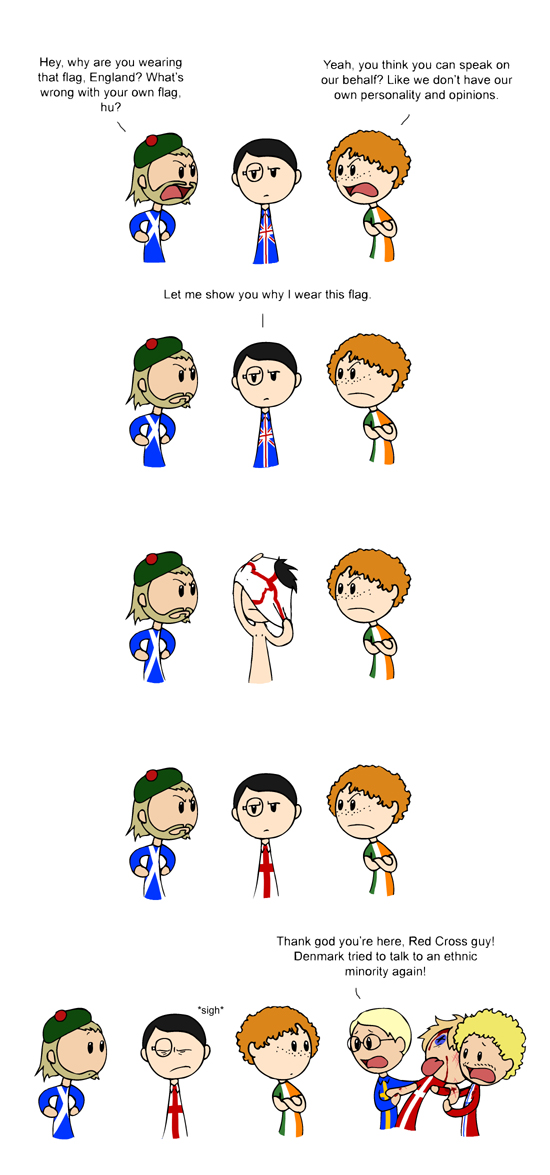 English Flag satwcomic.com