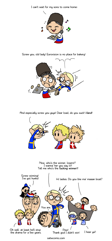 Eurovision 2012 satwcomic.com
