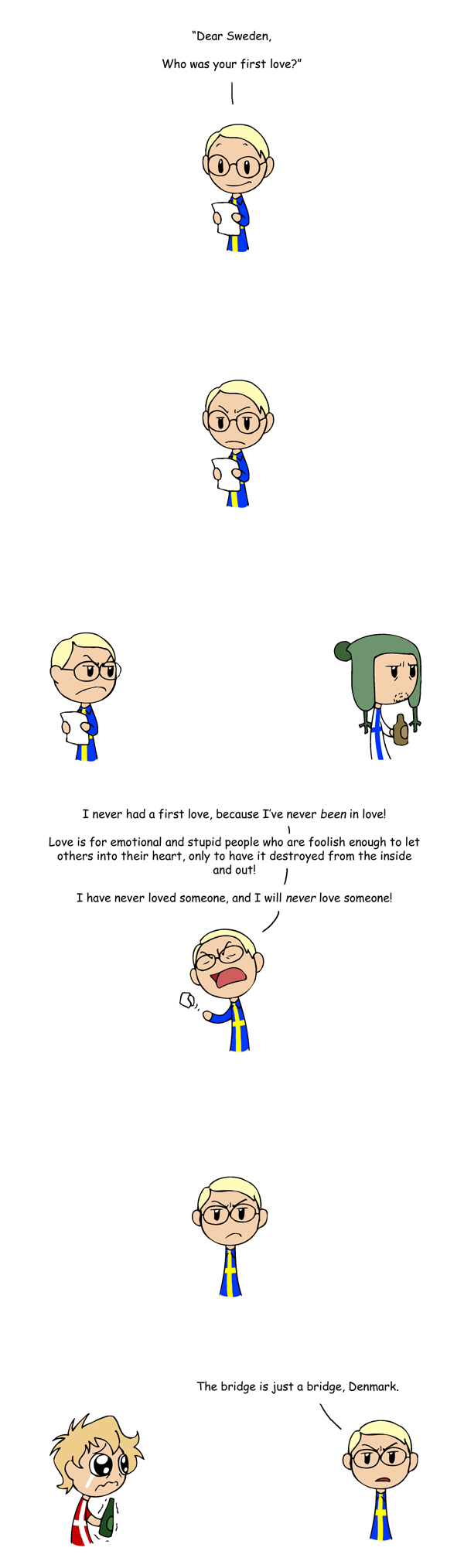 First Love satwcomic.com