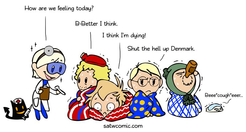Flu Season satwcomic.com