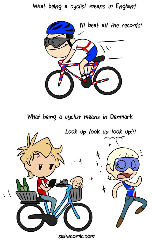 How to use a bike satwcomic.com