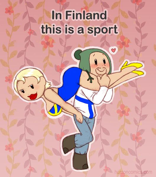 Sports in Finland  satwcomic.com