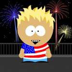 America South Park style