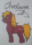 Christiania As My Little Pony xD
