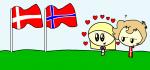 DK/NO Flags
