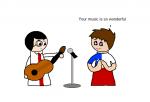 English Music Dilemma