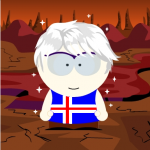 Iceland South Park Style
