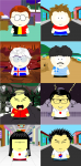SATW South Park Style group 3