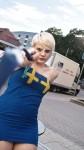 Sister Sweden cosplay
