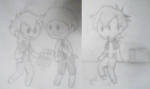 Small drawings xD Denmark and Norway