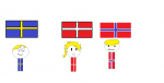 sweden denmark norway