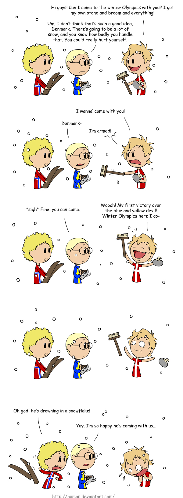 Winter Olympics satwcomic.com
