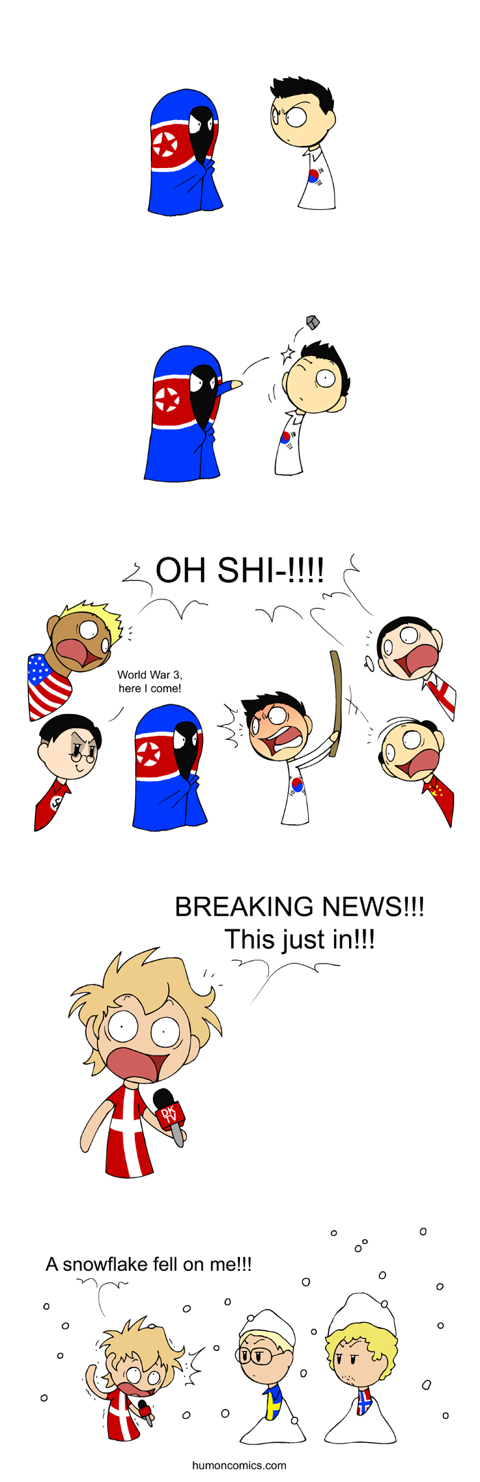 World in Trouble  satwcomic.com