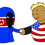 Norht Korea Handshake