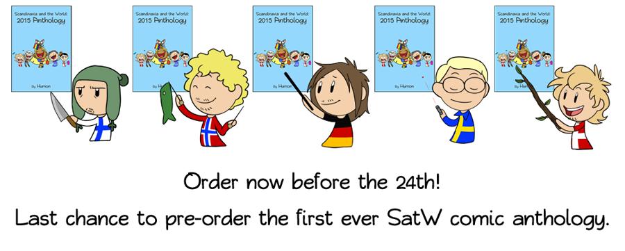 2015 Anthology Book satwcomic.com