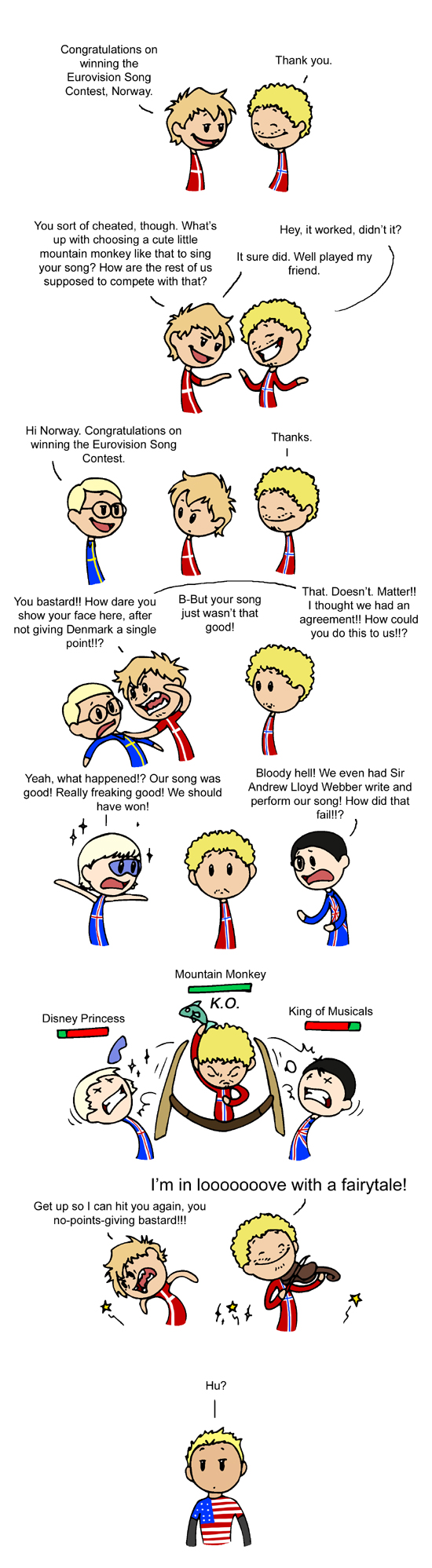 Eurovision Song Contest satwcomic.com