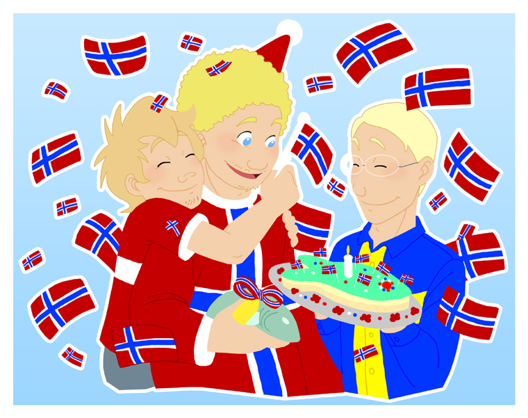 Happy Birthday Norway satwcomic.com