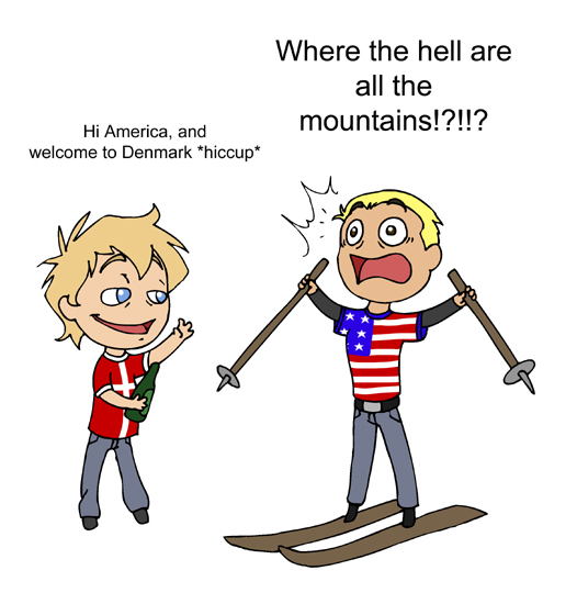 I Need Mountains satwcomic.com