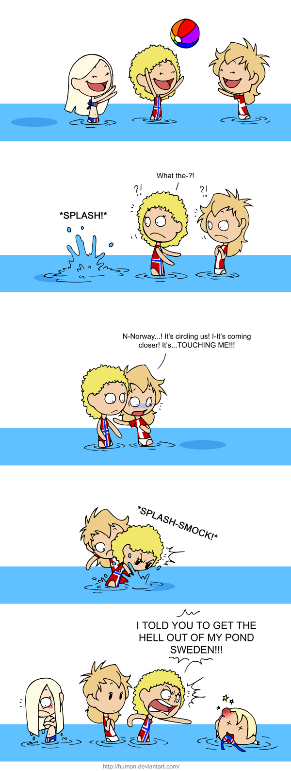 Monster in the Lake satwcomic.com