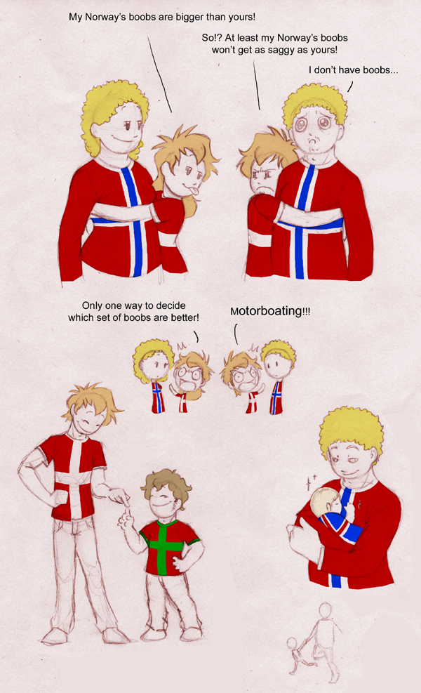 Random Norway and Denmark satwcomic.com