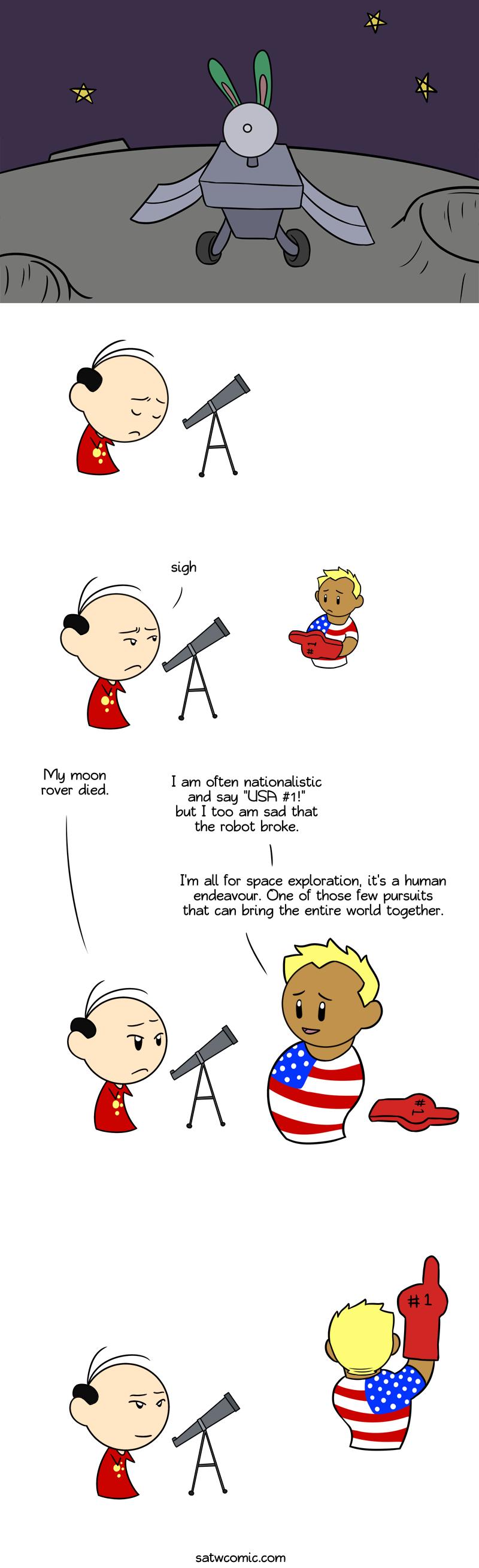 A Human Endeavour satwcomic.com