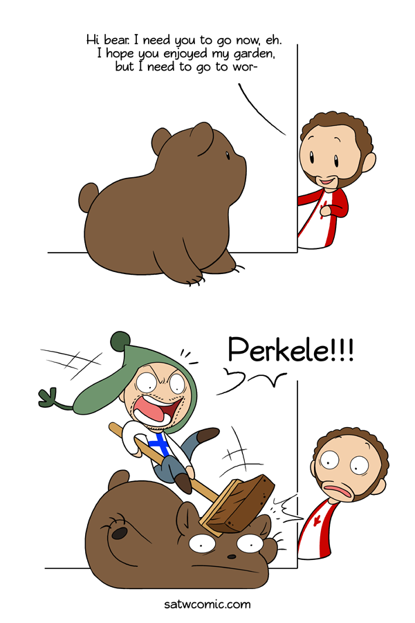 Bear Whisperer satwcomic.com