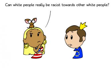 thumbnail of White on white hate crime