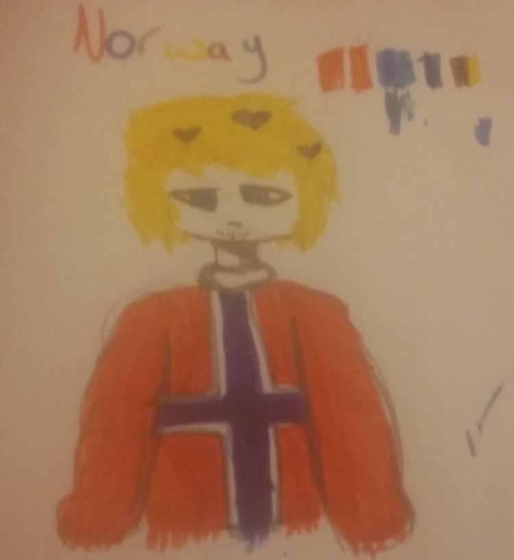 A Norway art my friend's sister made