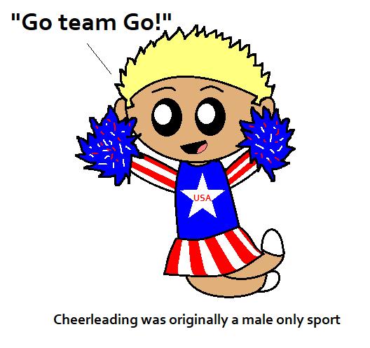 Cheerleading is Manly satwcomic.com