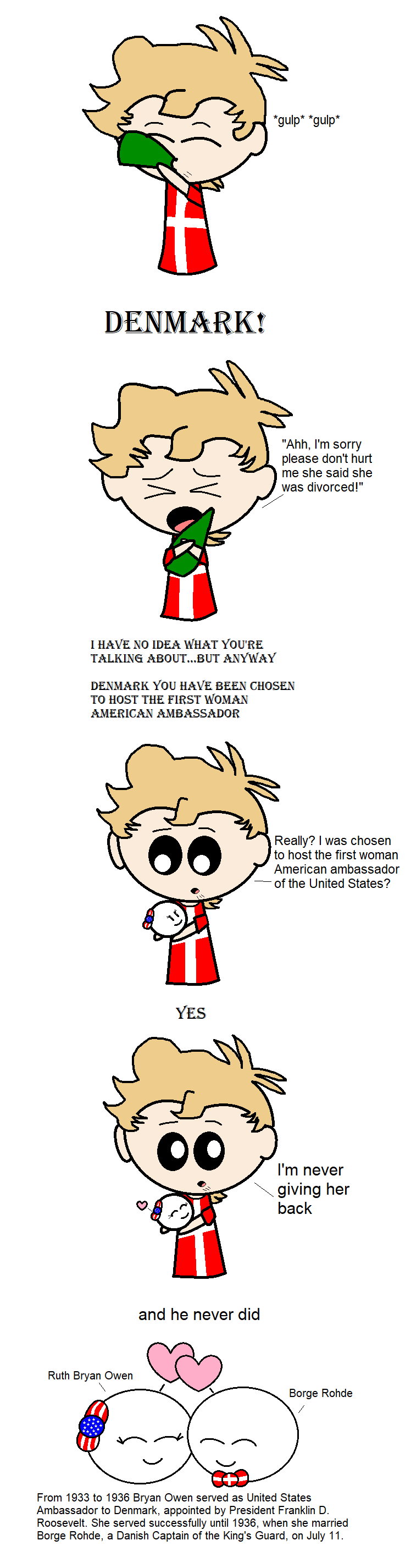 And Denmark never gave her back satwcomic.com