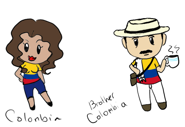 Colombia and Brother Colombia