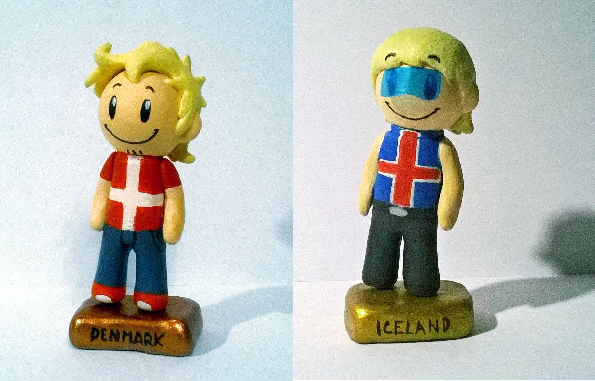 Denmark and Iceland figures fanmade satwcomic.com