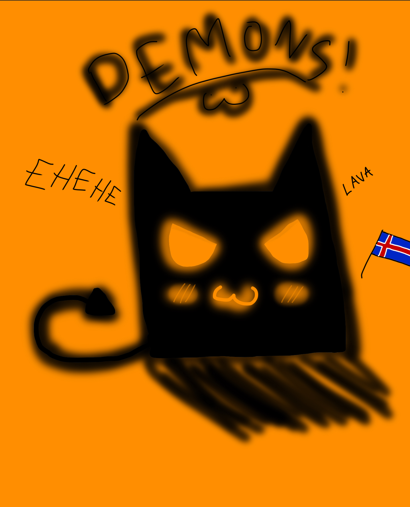 Iceland's Demon Child :3