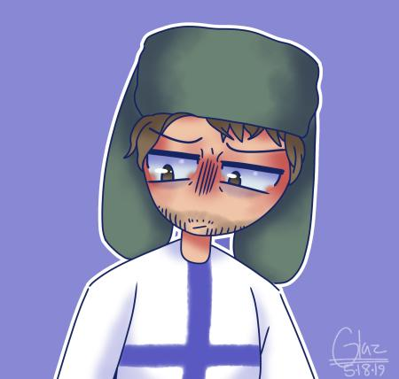 Finland art my friend made :)