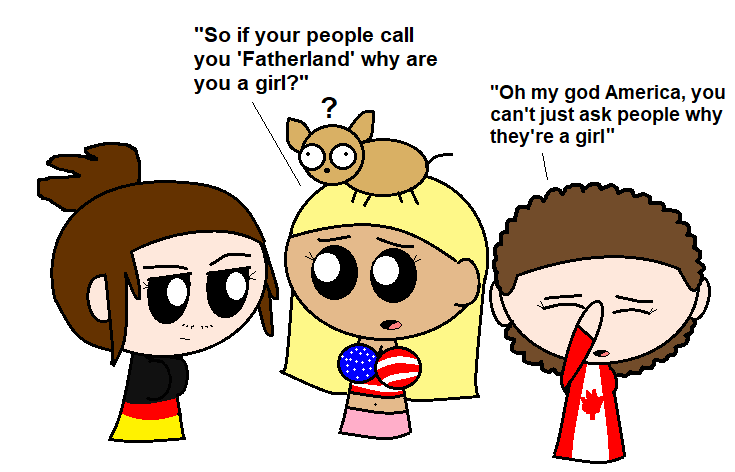 Why are you a girl? satwcomic.com