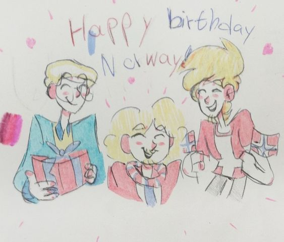 Happy birthday, Norway! satwcomic.com