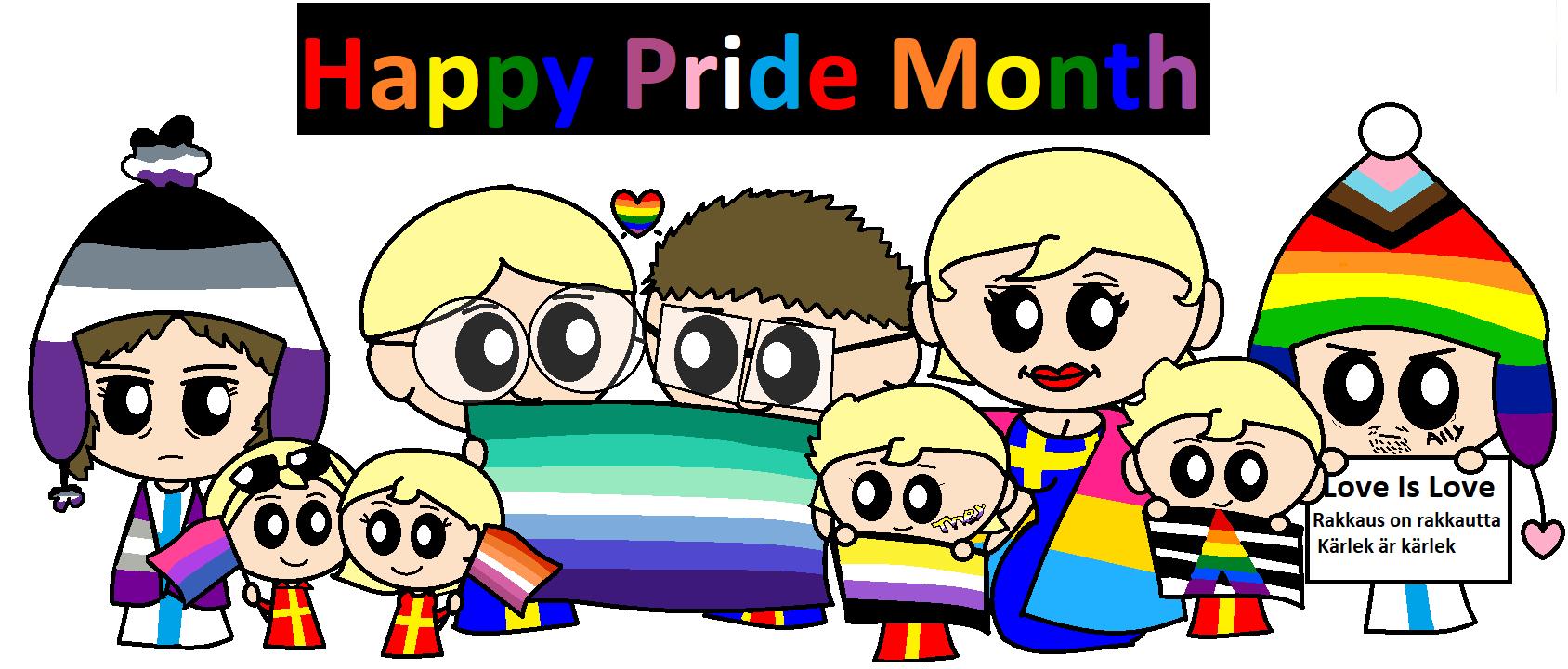 Happy Pride Month satwcomic.com