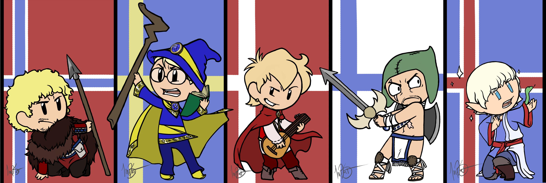 HWRUN Characters 01 scandinavia.io