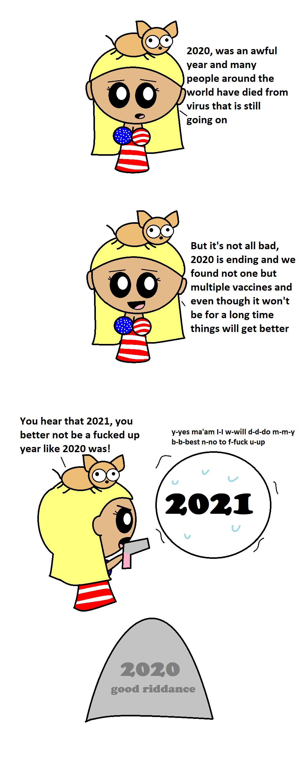 Goodbye 2020 You will not be Missed  satwcomic.com