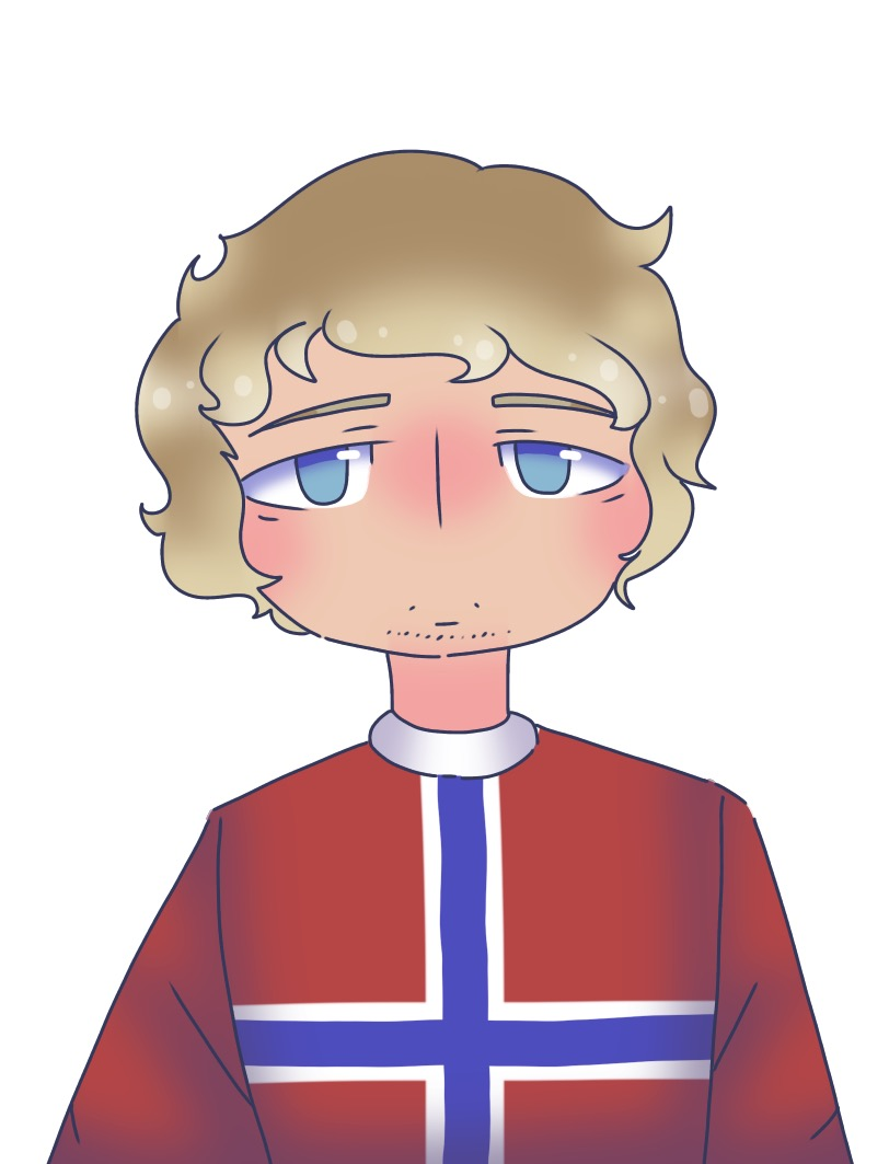 A cute Norway art my friend did :)