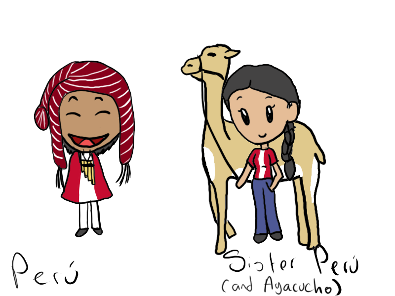 Peru, Sister Peru and Ayacucho satwcomic.com