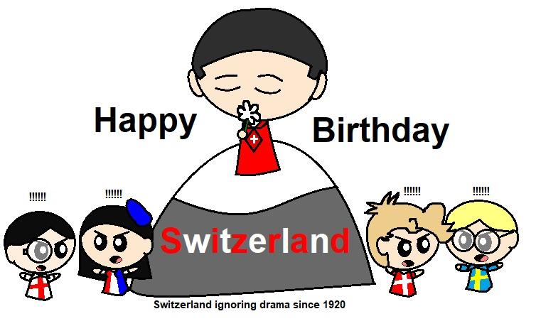 Happy Birthday Switzerland satwcomic.com