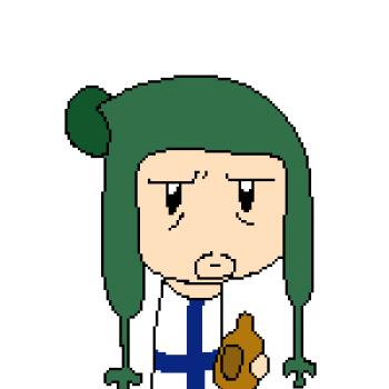 Finland - Pixel Art